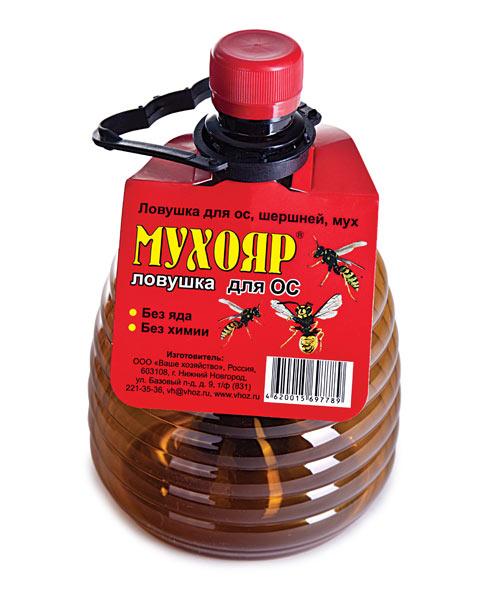 Мухояр ловушка для ос (бутылка) 1 шт