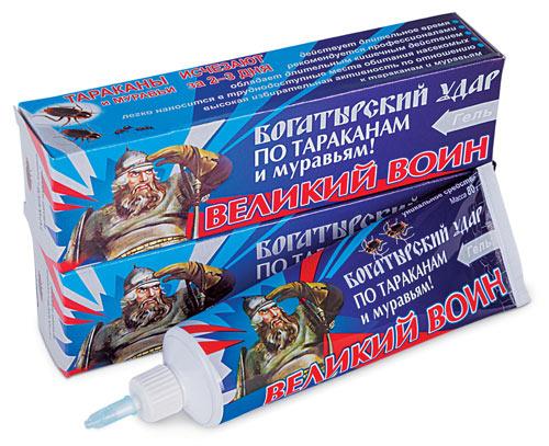 Великий Воин гель (тараканы) 80 гр