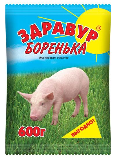 Здравур Боренька 600 гр пакет