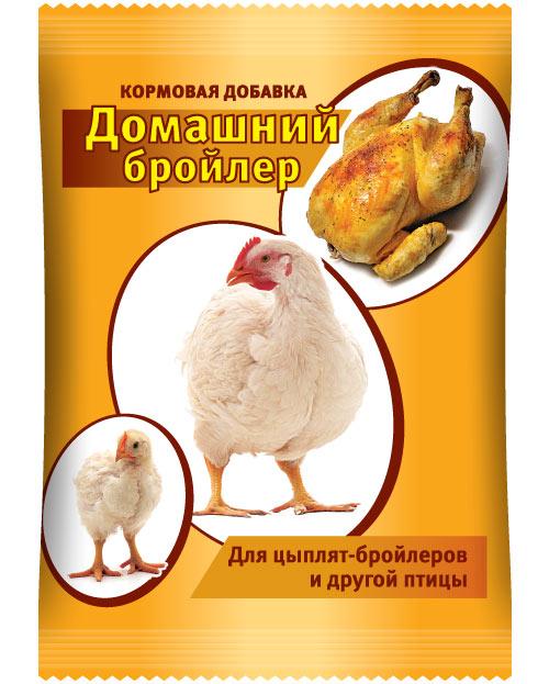 """Кормовая добавка """"Домашний Бройлер"""" 800 гр"""