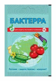 Бактерра- средство для защиты растений от болезней пакет 15 г