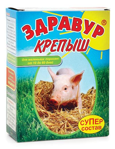 Здравур Крепыш 250 гр коробка