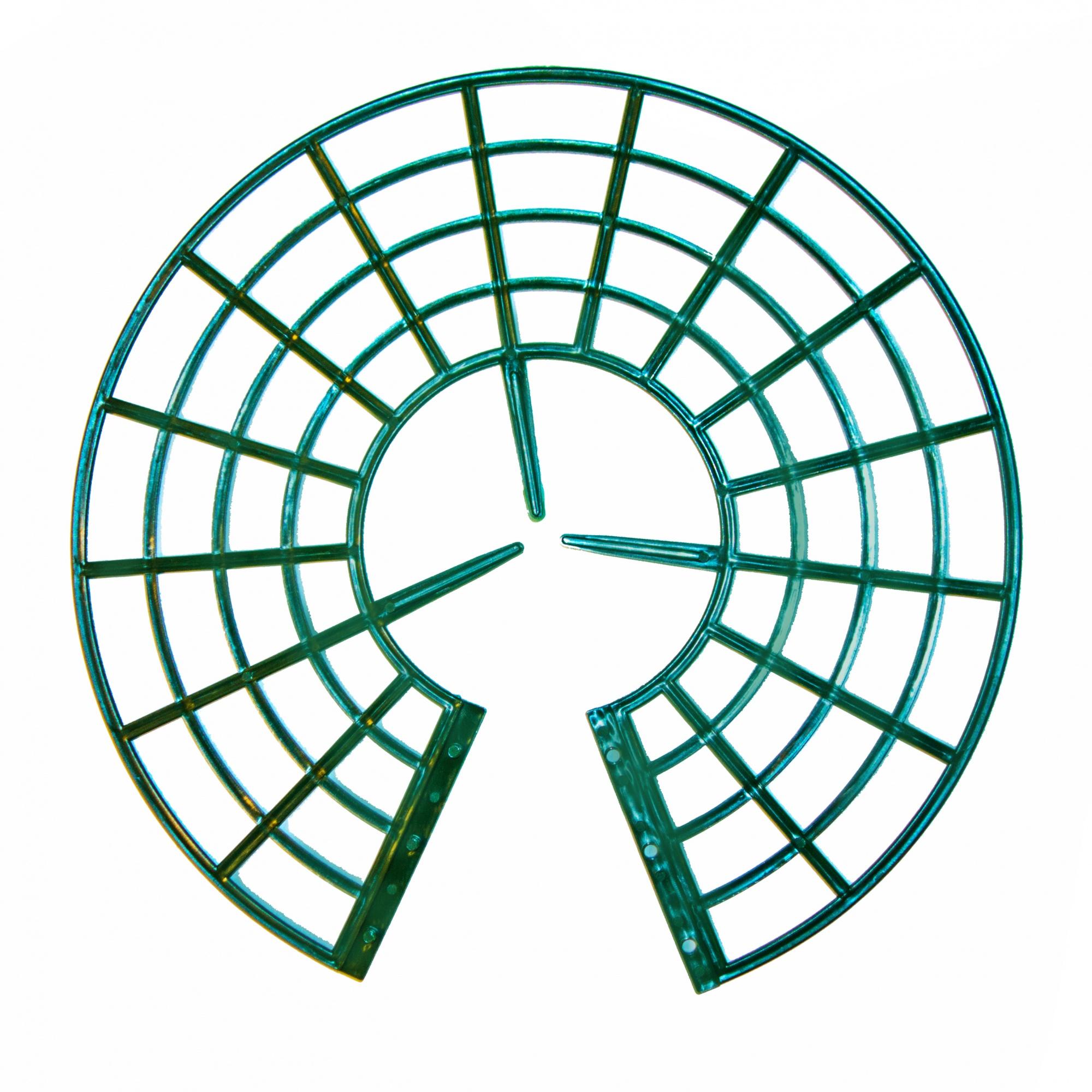 Подставка под клубнику зеленая (набор 5 шт.)