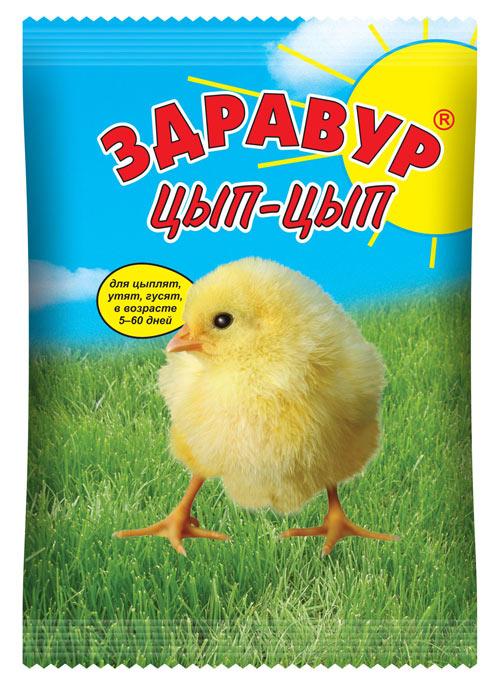 Здравур Цып- Цып 250 гр пакет