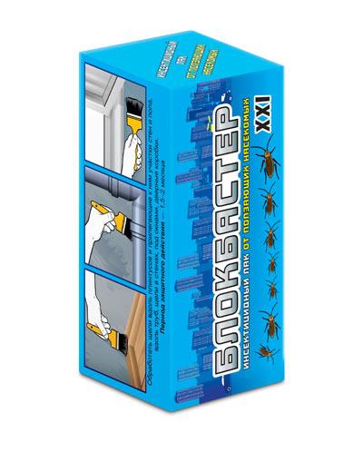 Блокбастер XXI — инсектицидный лак от тараканов флакон 100 мл