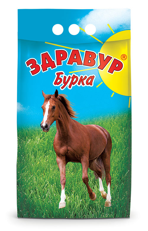 Здравур Бурка 3 кг пакет