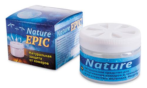 Гель-репелент на эфирных маслах NATURE EPIC 50 мл.