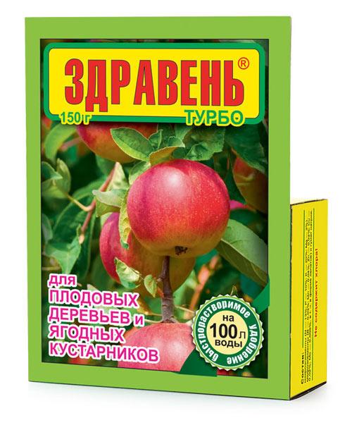 Здравень турбо для плодовых деревьев и ягодных кустарников 150 гр
