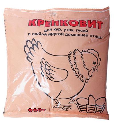 Крепковит для кур, уток и гусей 900 гр