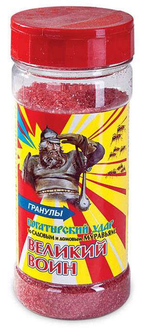 Великий Воин гранулы (от муравьев) 270 гр.