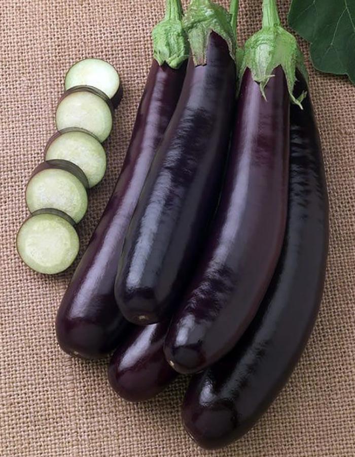 Баклажан Длинный Фиолетовый (УД) 20 шт цв.п.