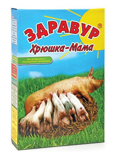 Здравур Хрюшка- Мама 600 гр коробка