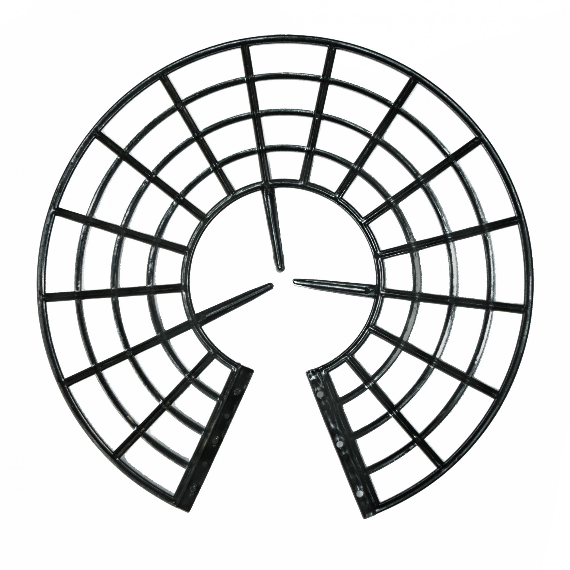 Подставка под клубнику черная (набор 5 шт.)