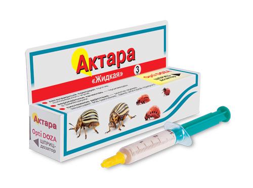 Актара OPTI DOZA (шприц-дозатор)  3мл