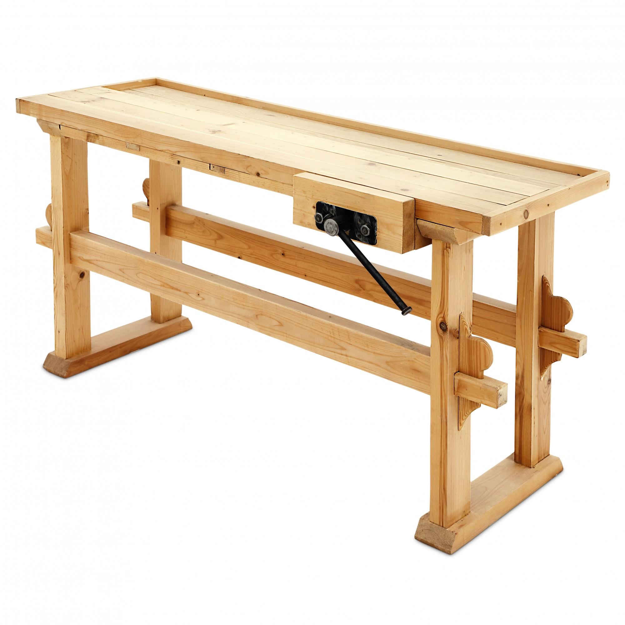 Верстак столярный деревянный 1 шт