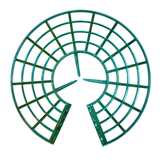 Подставка под клубнику зеленая 1 шт