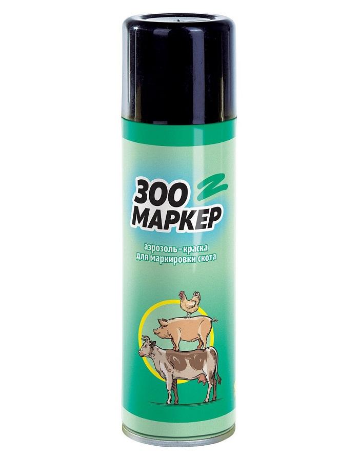 Зоо-маркер аэрозоль-краска для метки скота и птицы 300 см.куб.