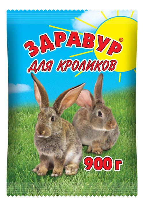 Здравур для Кроликов 900 гр пакет
