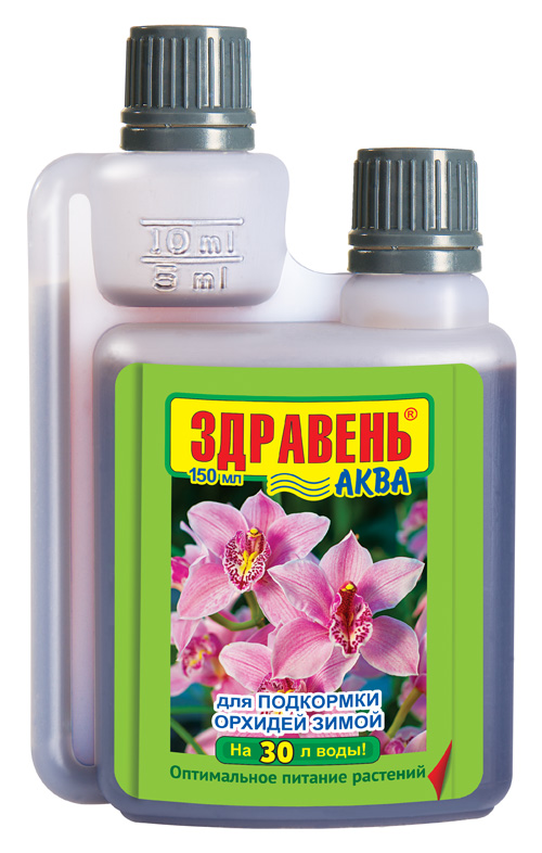 Здравень АКВА Opti DOZA для орхидей для подкормки зимой 150мл